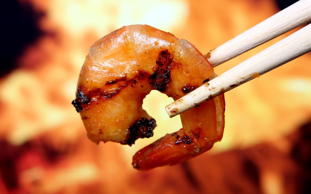 Eat the shrimp – a metaphor for surviving hard times